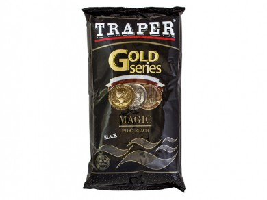 прикормка /TRAPER/ Gold Series Magic Black 1000гр