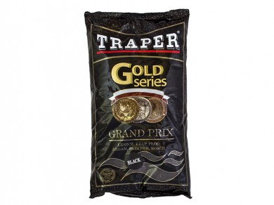прикормка /TRAPER/ Gold Series Grand Prix Black 1000гр