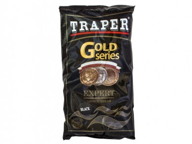 прикормка /TRAPER/ Gold Series Expert Black 1000гр