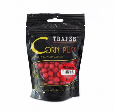 попкорн /TRAPER/ CORN PUFF Strawberry (клубника)  8мм 20г